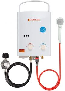 Camplux Outdoor Portable Propane Tankless Water Heater