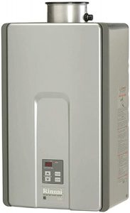 Rinnai RL Water Heater Indoor Installation