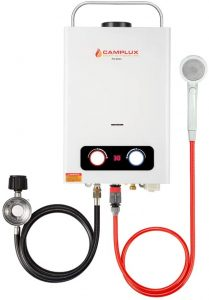 camplux enjoy outdoor tankless water heater